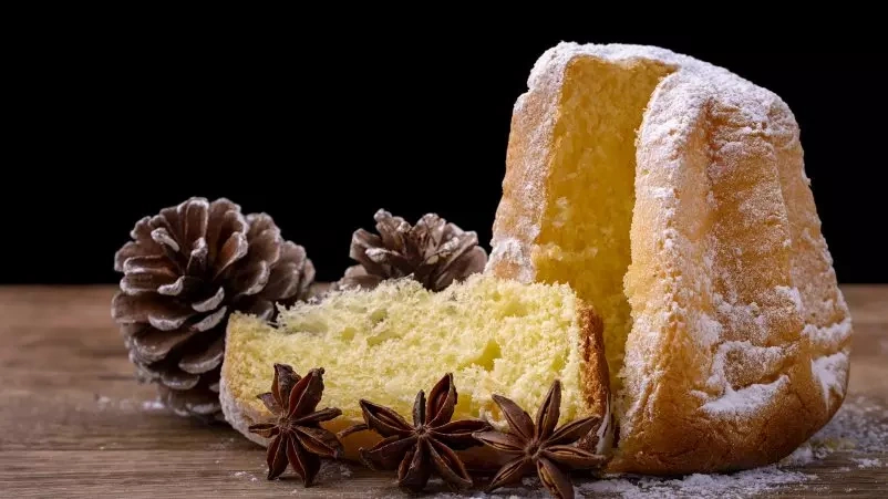 """Pandoro di natale (Itališkas Kalėdinis pyragas """"Pandoro"""")"""